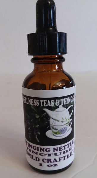 STINGING NETTLE ROOT TINCTURE  ( WILD CRAFTED) 1OZ PROSTATE HEALTH AND MUCH MORE