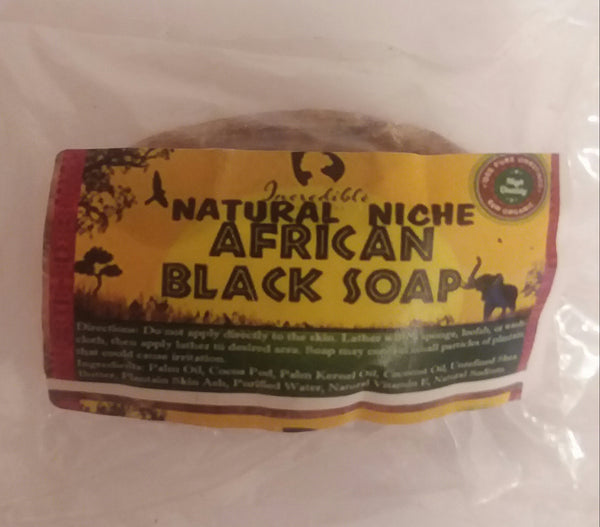 AFRICAN BLACK SOAP 1 LB BAR