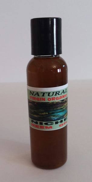 COLD PRESSED ORGANIC NEEM OIL 2 OZ BOTTLE