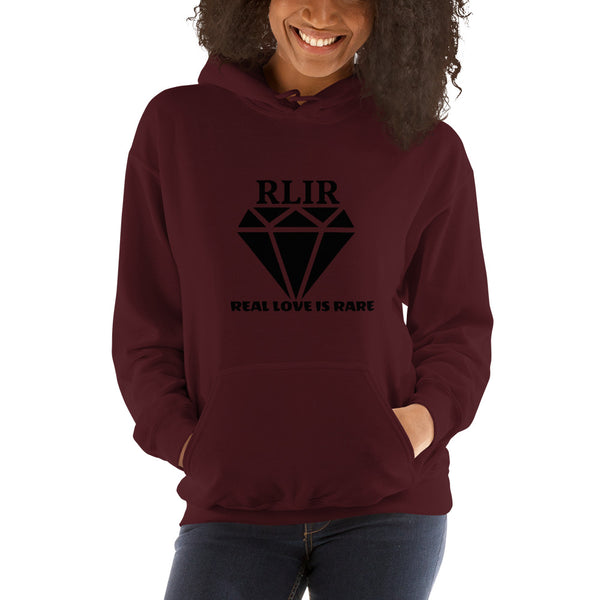 Real Love Is Rare- Diamond Hoodie