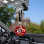 Car Decoration Metal Wheel Hanging Ornament - Divinegears