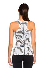 Load image into Gallery viewer, RACERBACK TANK INDIANMURAL WHITE