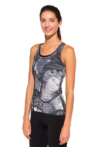 RACERBACK TANK KNIGHT BLACK