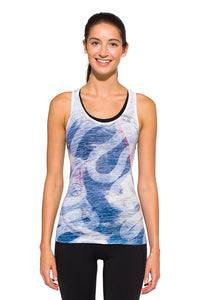 RACERBACK TANK INDIANMOON BLUE