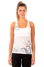 Load image into Gallery viewer, RACERBACK TANK OM GREYWHITE