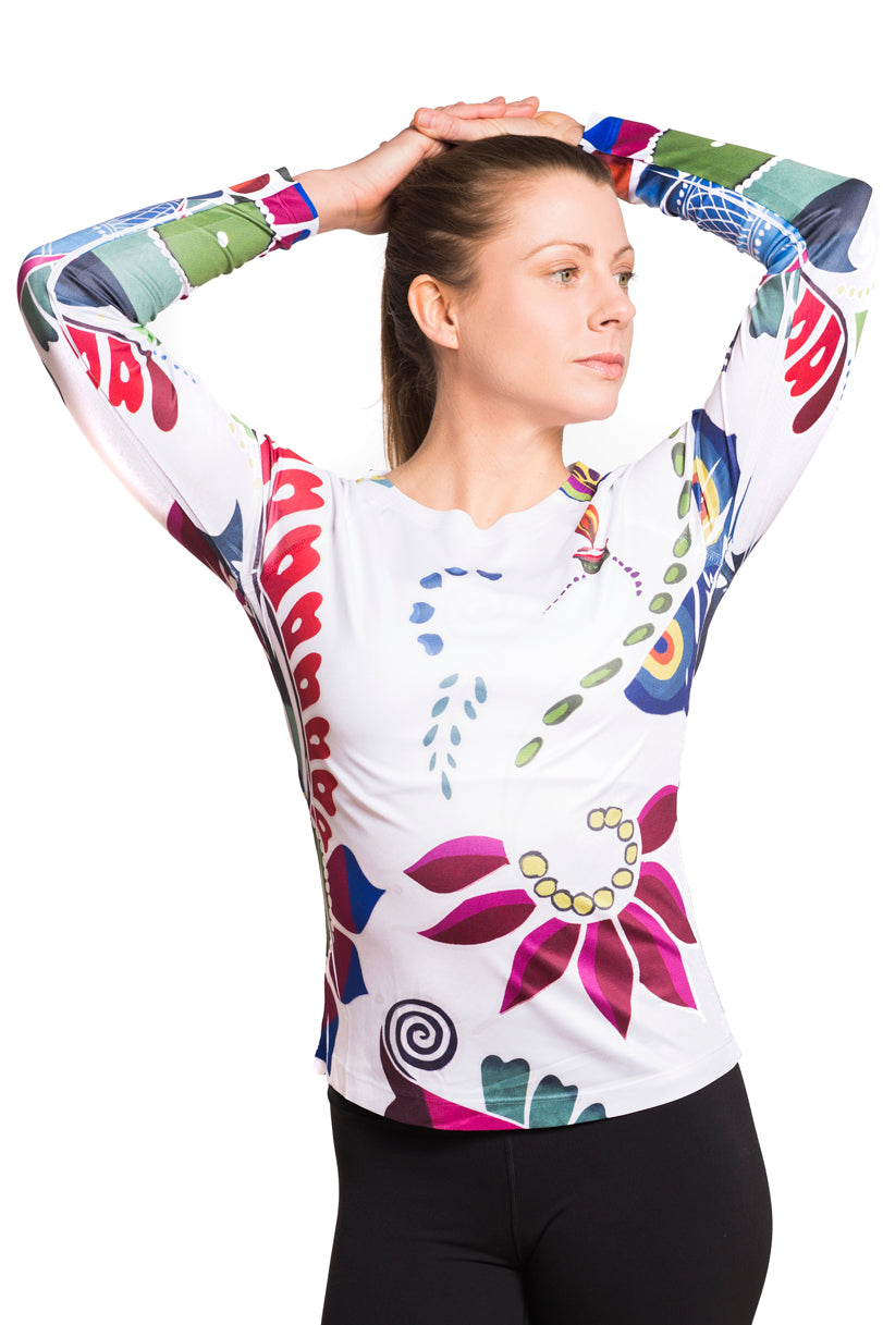 UV ACTIVE SHIRT RANGOLI MULTI