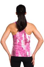 Load image into Gallery viewer, RACERBACK TANK TREEBARD PINK