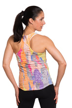 Load image into Gallery viewer, RACERBACK TANK TREEBARD ELECTRICPASTEL