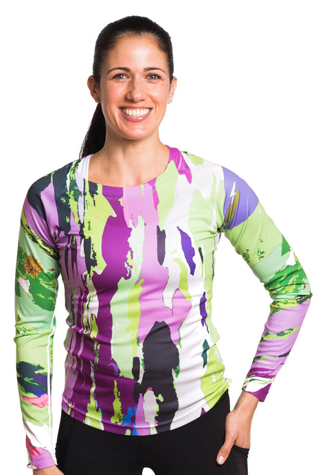 UV ACTIVE SHIRT TREEBARD LILYGREEN