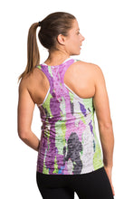 Load image into Gallery viewer, RACERBACK TANK TREEBARD LILYGREEN