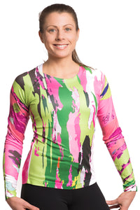 UV ACTIVE SHIRT TREEBARD LILYPINK