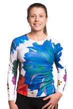 Load image into Gallery viewer, UV ACTIVE SHIRT FLEUR BLUE