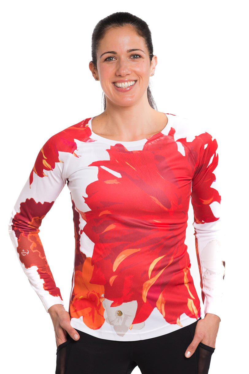 UV ACTIVE SHIRT FLEUR BRILLIANT