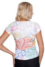 Load image into Gallery viewer, UV TSHIRT GRAFFITI LOVE