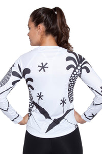 UV ACTIVE SHIRT GERTRUDE BLACKWHITE