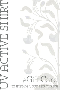 UV ACTIVE SHIRT GIFT CARD