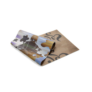 YOGA MAT CAMOBUDDHA SUNSET / OM BLACKSTONE