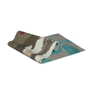YOGA MAT TREEBARD / GANGES GREY