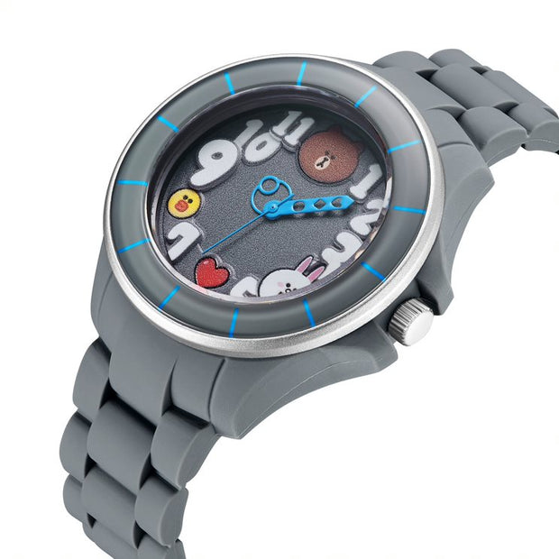 S1-122.7202 / LINE FRIENDS Adult Octopus Watch
