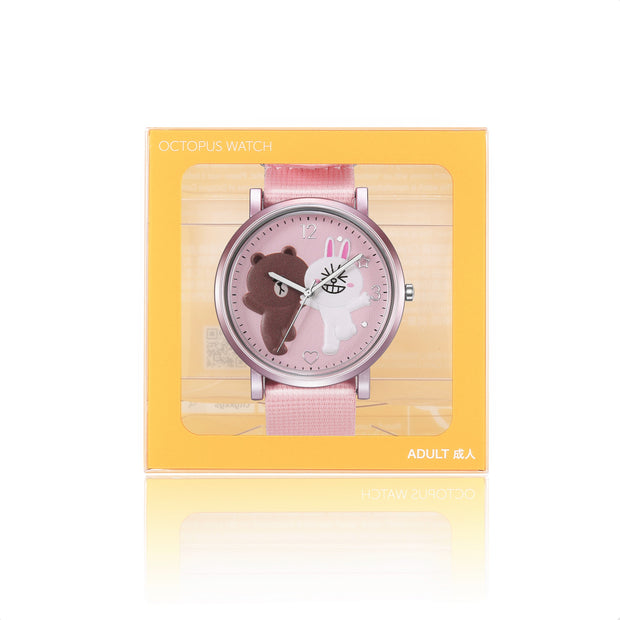 142.7404 / LINE FRIENDS Adult Octopus Watch