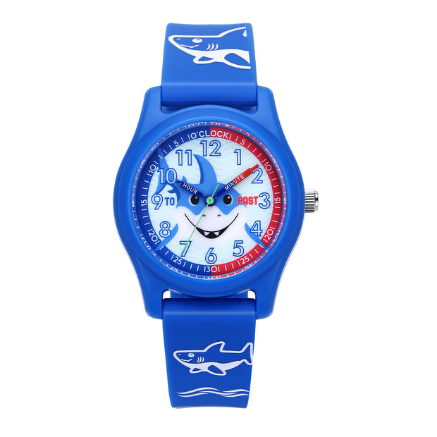 "M1-101.0202 / Child Octopus Watch ""i learn time"""