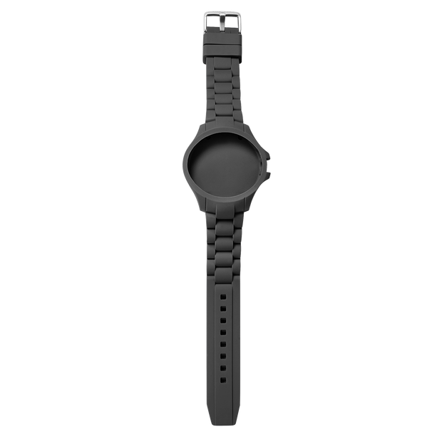 S1 - Silicon Black Watch Strap