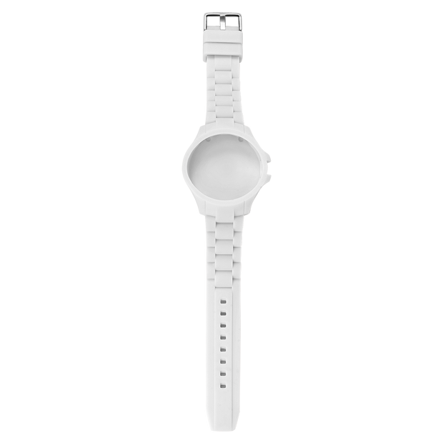 S1 - Silicon White Watch Strap