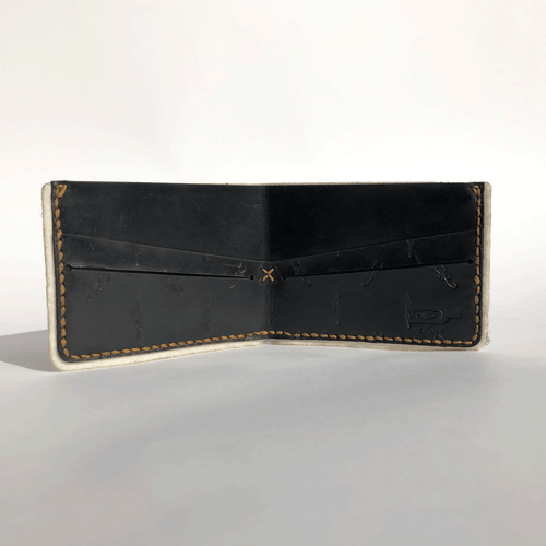Black Scorpion Cactus Bifold Wallet