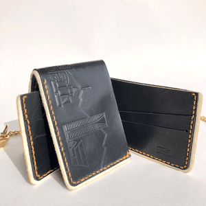 Black Bifold with Phoenix Skyline Print