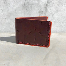 Load image into Gallery viewer, Burgundy Scorpion Cactus Bifold