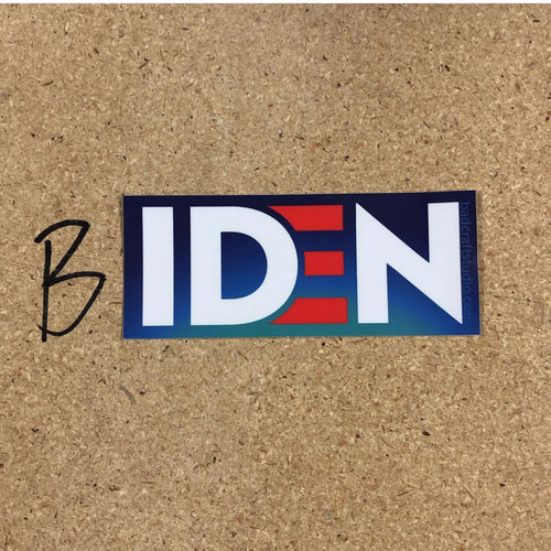 *IDEN sticker