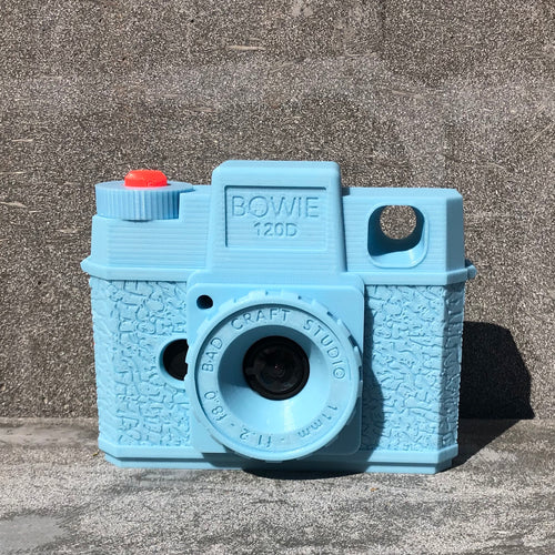 The Bowie - Digital Toy Camera with 3D-Printed Body
