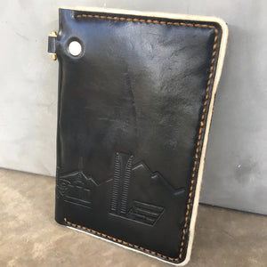 Black Phoenix Skyline Traveler Wallet