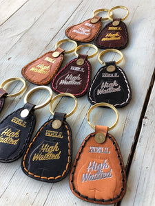 Hell or High Waisted Toggle Keychain