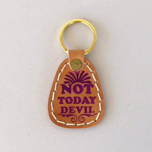 Not Today Devil Toggle Keychain