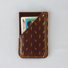 Load image into Gallery viewer, Metallic Foil Phone Wallet Scorpion and Cactus