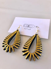 Load image into Gallery viewer, Tan Rollie Pollie Earrings