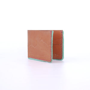 Tan Bifold with Phoenix Skyline Print