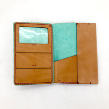 Load image into Gallery viewer, Tan Phoenix Skyline Traveler Wallet