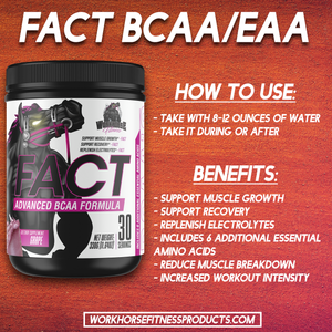 Workhorse Fitness FACT BCAA's