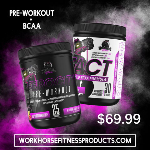Pre Workout and BCAA's Combo! Includes free shipping!  10.00% Off Auto renew