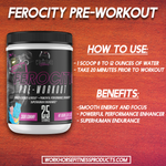 Workhorse Fitness Ferocity 2.0 Pre-workout