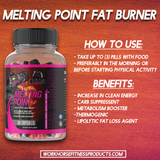 Sample of our Melting Point Fat Burner
