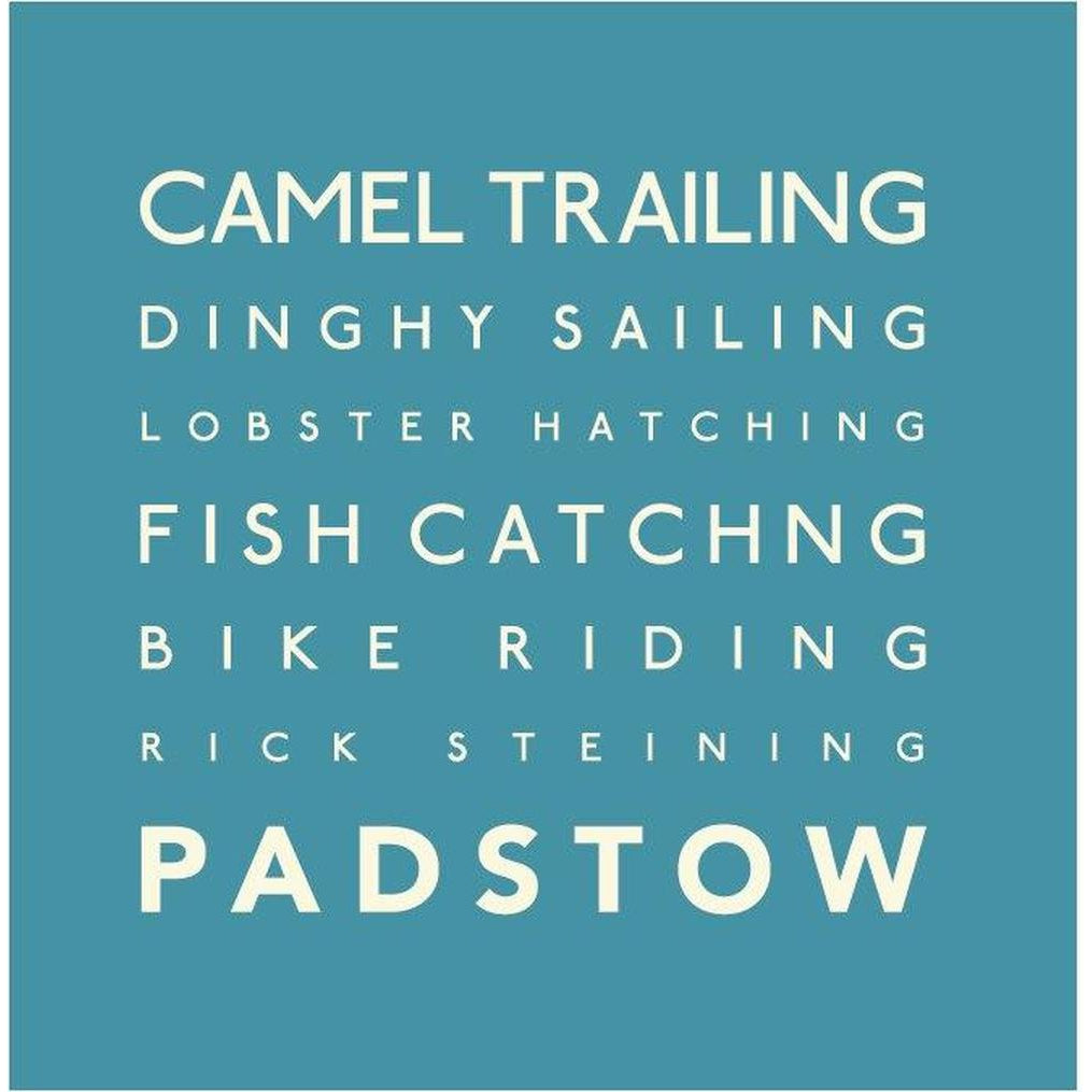 Padstow - Greeting Card-SeaKisses