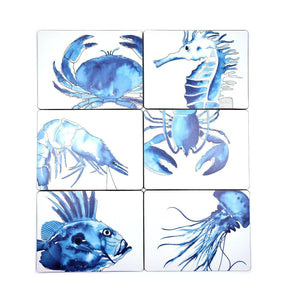 SeaLife Design Placemats - pack 6-SeaKisses