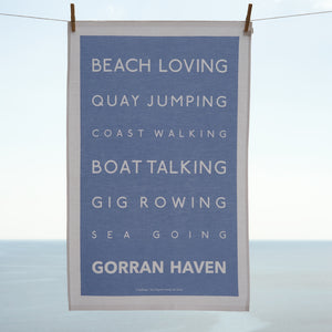 The Gorran Haven Tea Towel-SeaKisses