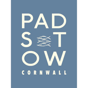 Padstow - Typographic Framed Print