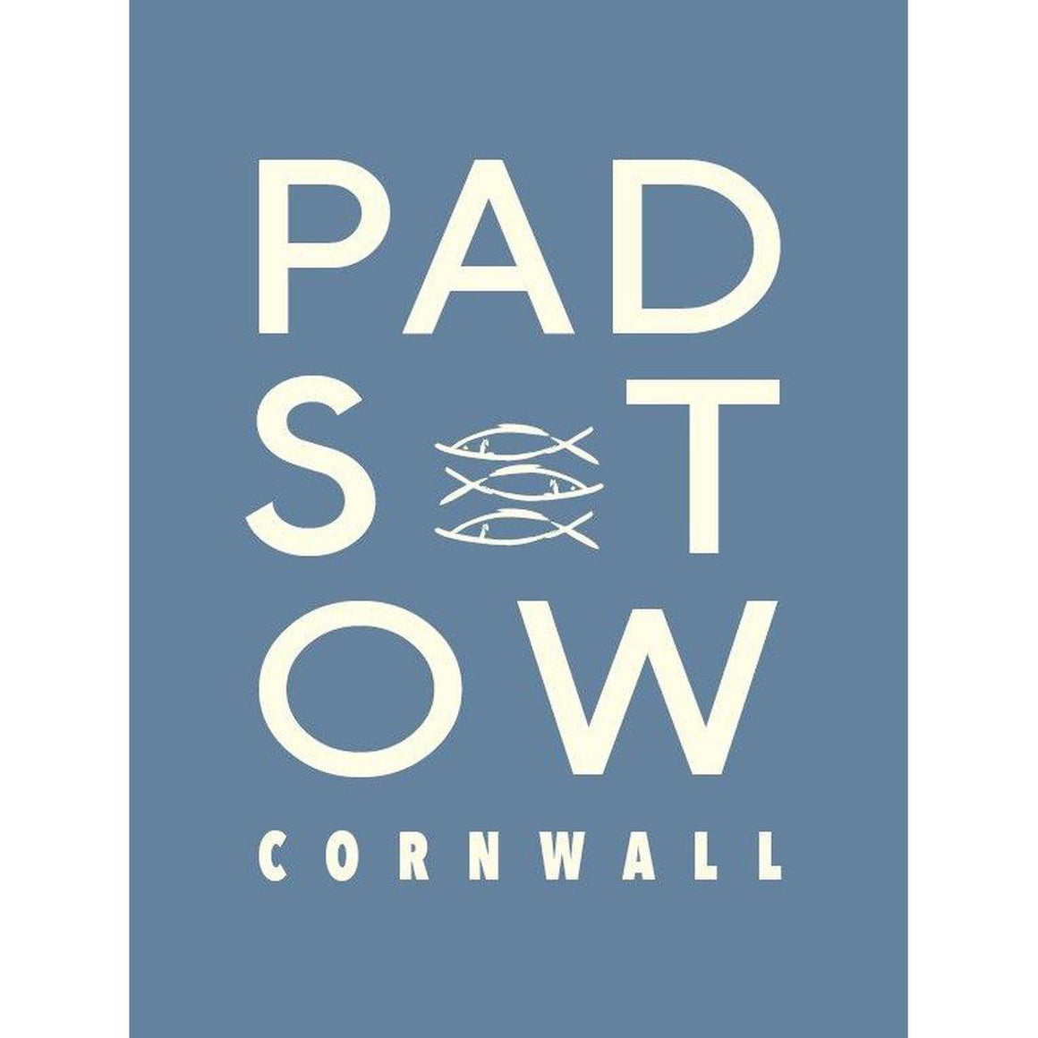 Padstow Typographic Travel Print/Poster Seaside Art by SeaKisses