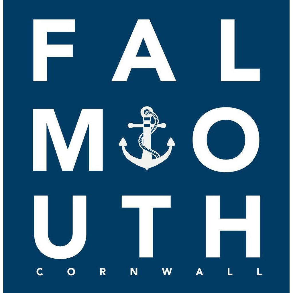 Falmouth - Greeting Card-SeaKisses