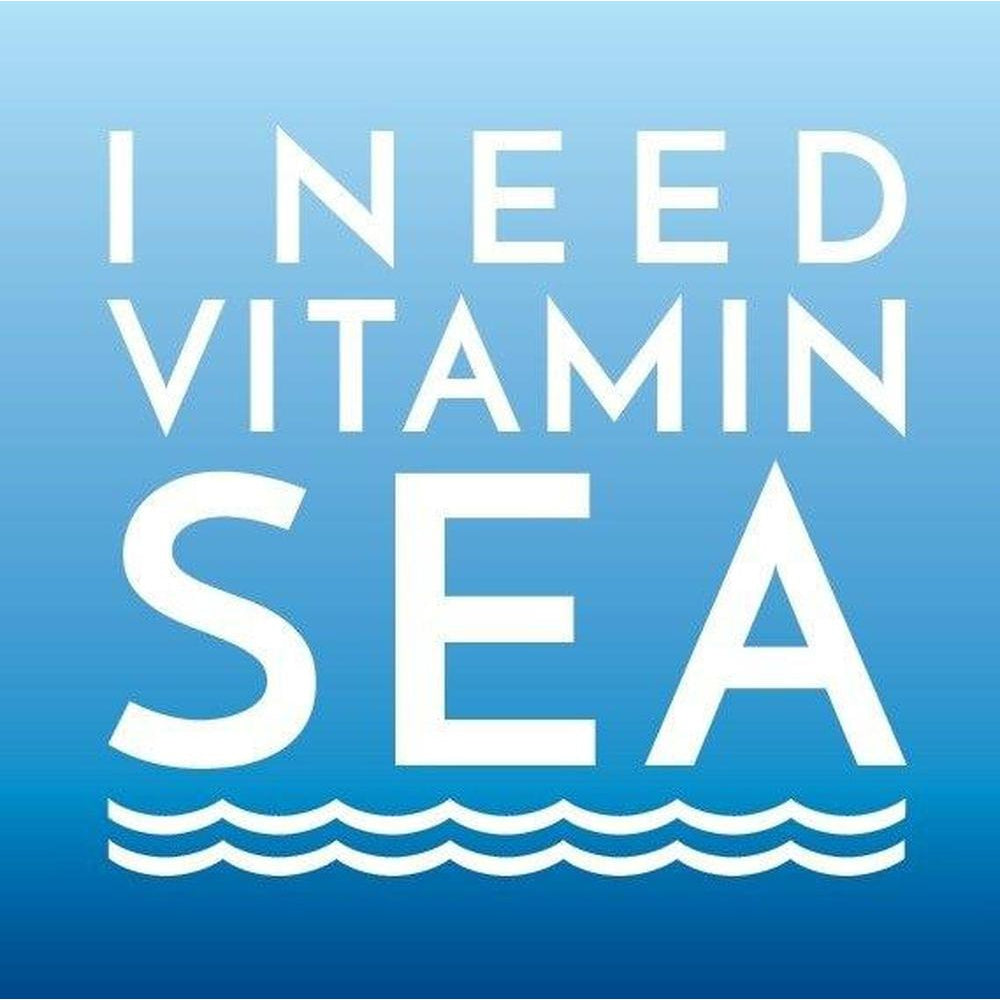 I need Vitamin Sea Coastal Greeting Card by SeaKisses